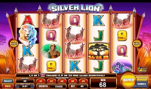 Play The New Silver Lion Delux Slot At William Hill Casino