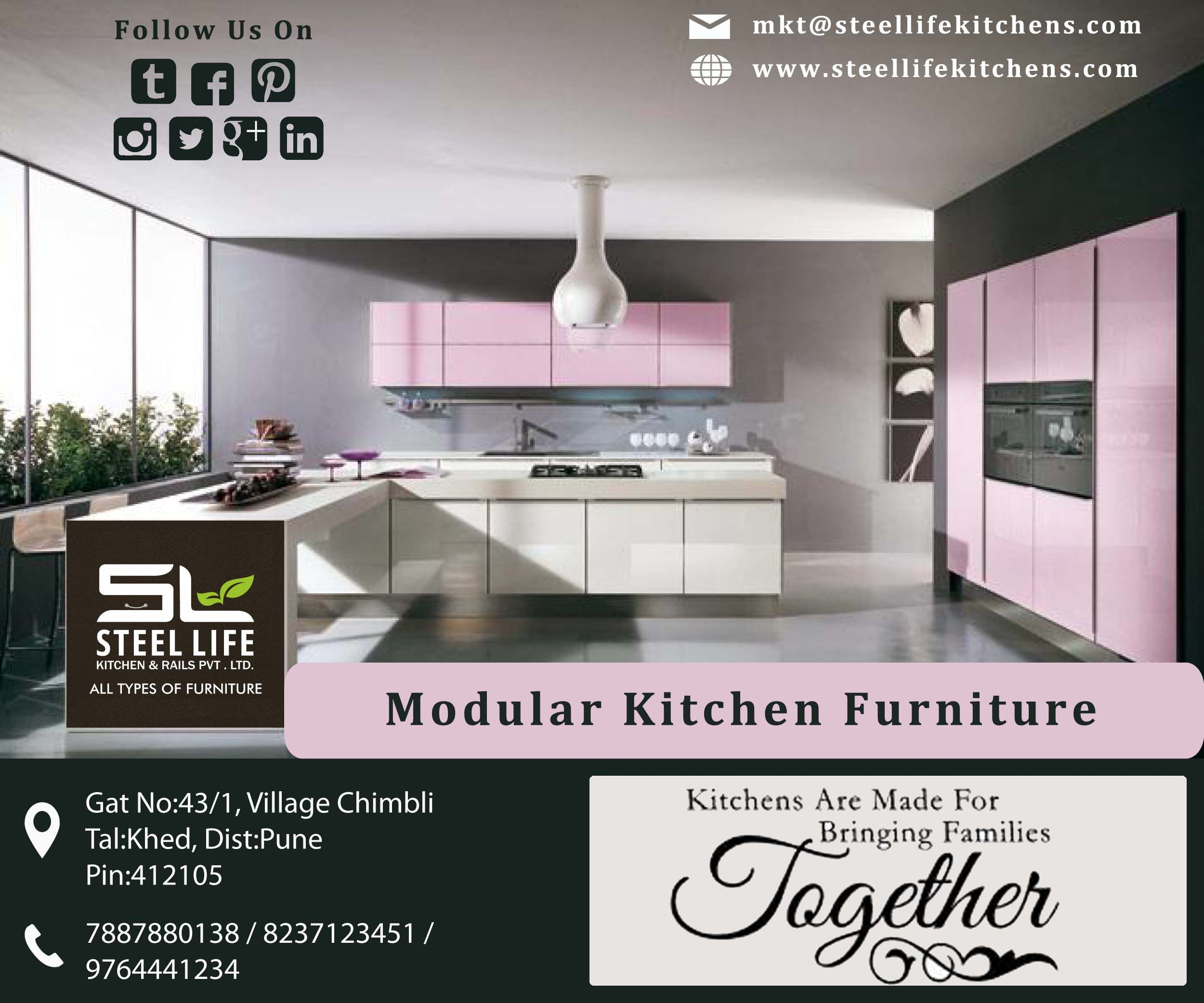 Kitchens Made For Bringing Families Together Steel Life Kitchens