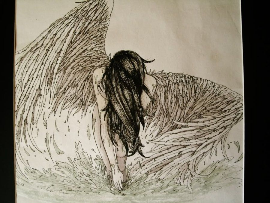 Fallen angel by colourlessvalor amazing artwork pinterest fallen angel by colourlessvalor altavistaventures Images