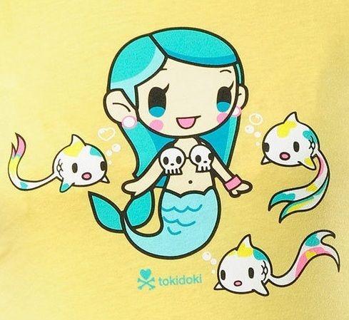 kawaii mermaid - Tokidoki