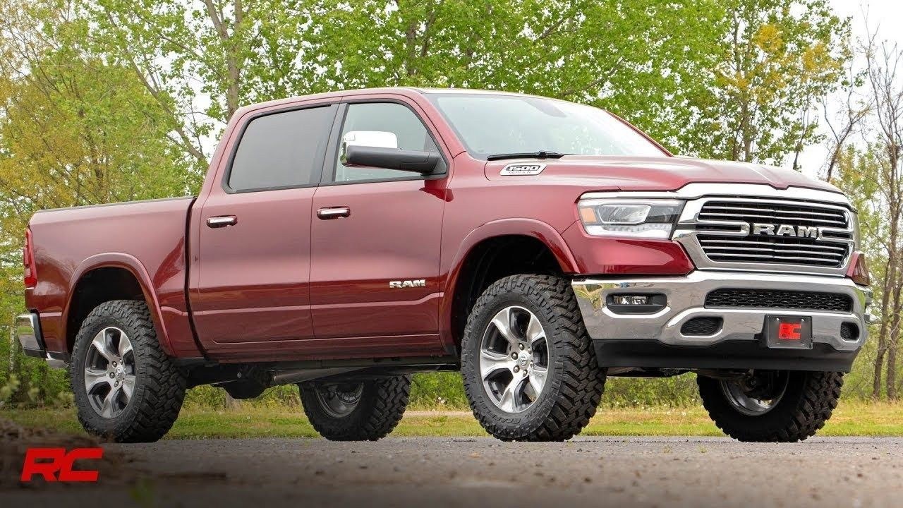 2019 ram 1500 35inch suspension lift kit by rough