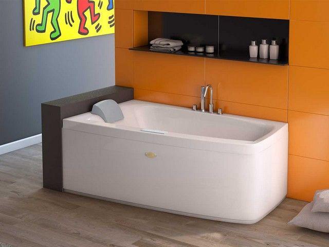 Folia Vasca Idro 150x90 Sx Pan Frontale Iperceramica Bath Inspiration Corner Bathtub Bathtub