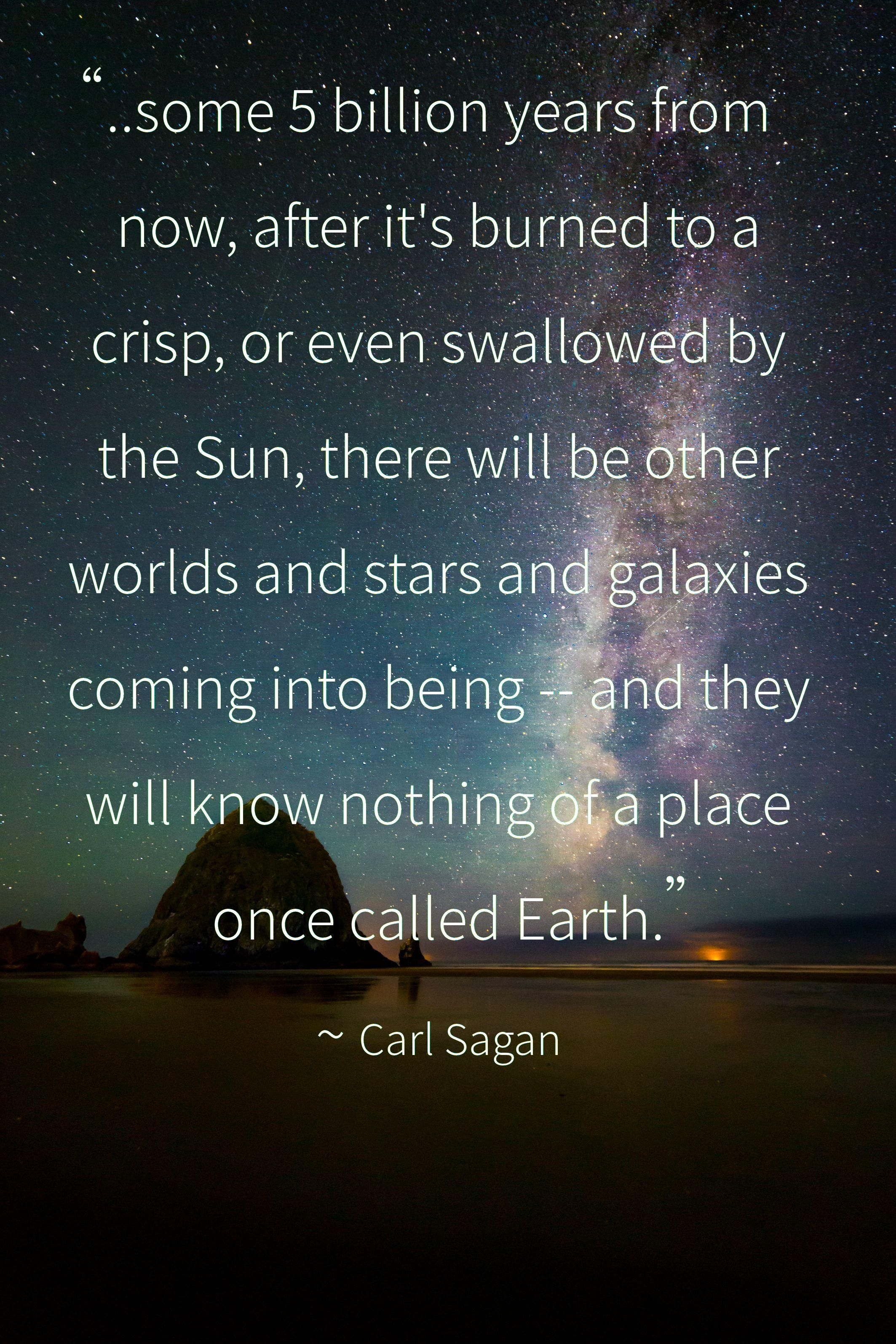 A Place Once Called Earth Carl Sagan 2127x3190