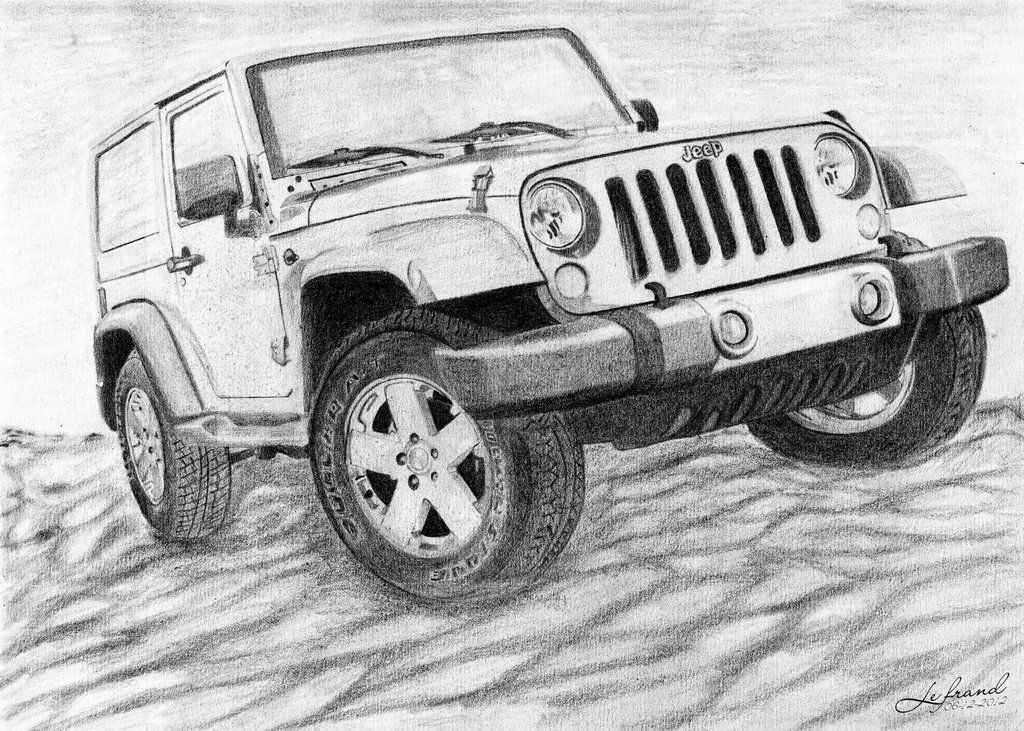 jeep pencil drawings - Yahoo Image Search Results | Art | Pinterest ...
