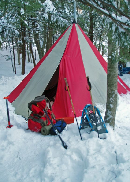 A tent with a woodstove! Winter backpacking is an adventure. The woodstove makes for & A tent with a woodstove! Winter backpacking is an adventure. The ...