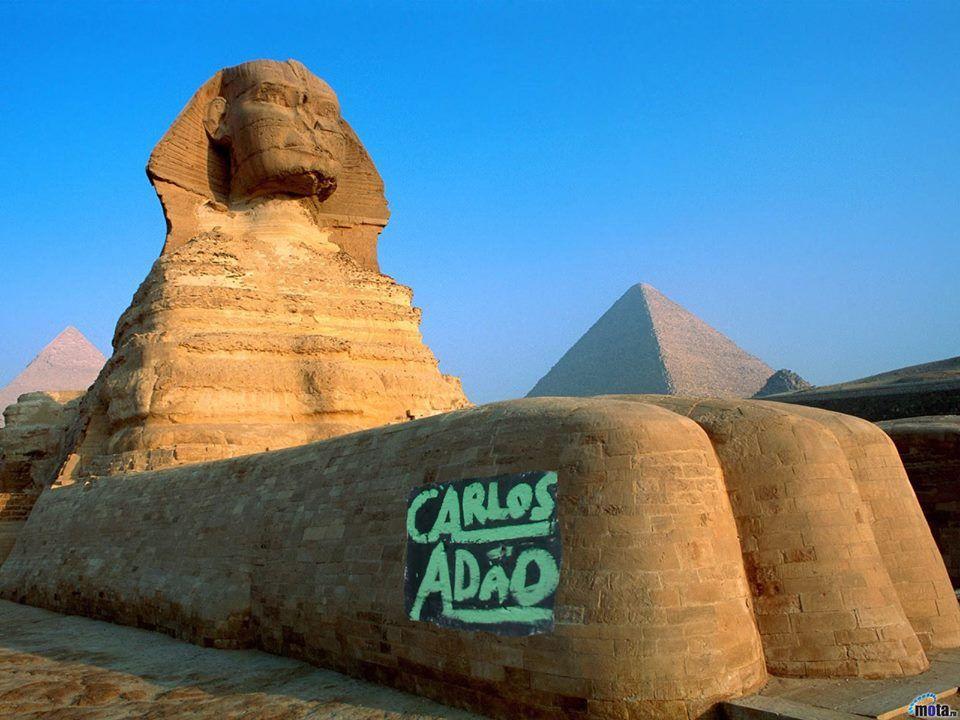 até no Egito chega esse ser humano?! kkkkkkk