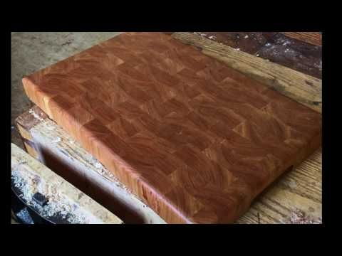 How to Make an End Grain Cutting Board with Tom Mc