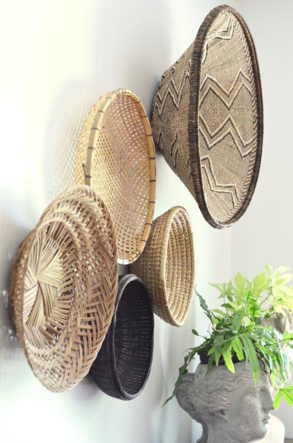 Best 25 Baskets On Wall Ideas Pinterest Home Decor