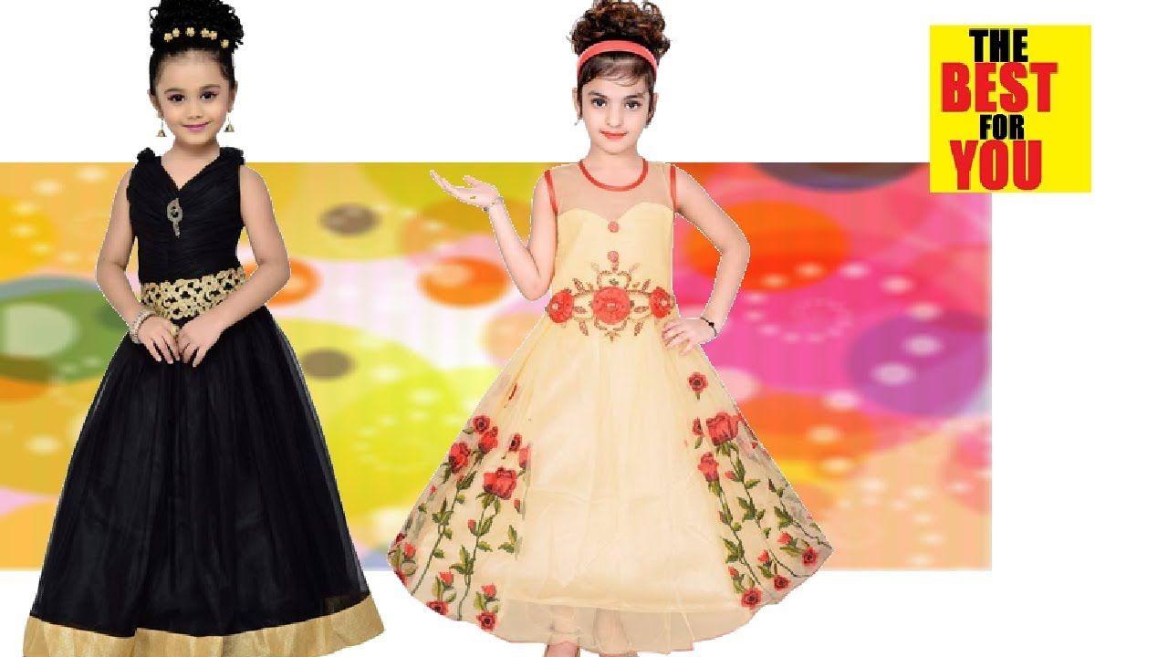 153ddd285f9c0 Dress for kids girls design kids party wear in flipkart and amazon shopp.