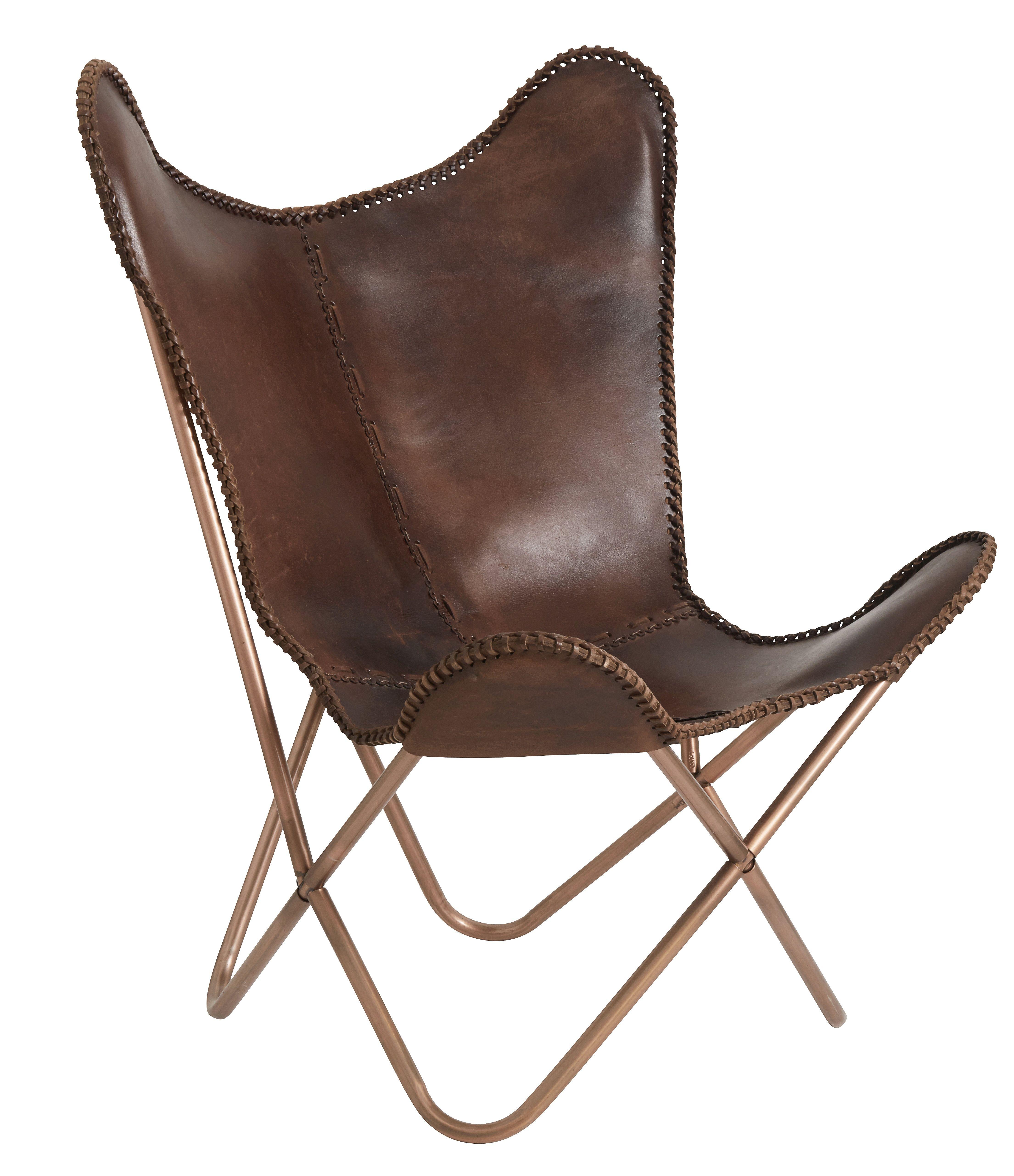 Brown Leather Butterfly Chair Stuhlede Com Schmetterling Stuhl Stuhle Klassiker