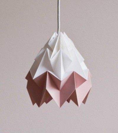 Moth origami lampshade pink and white future home pinterest moth origami lampshade pink and white aloadofball Gallery