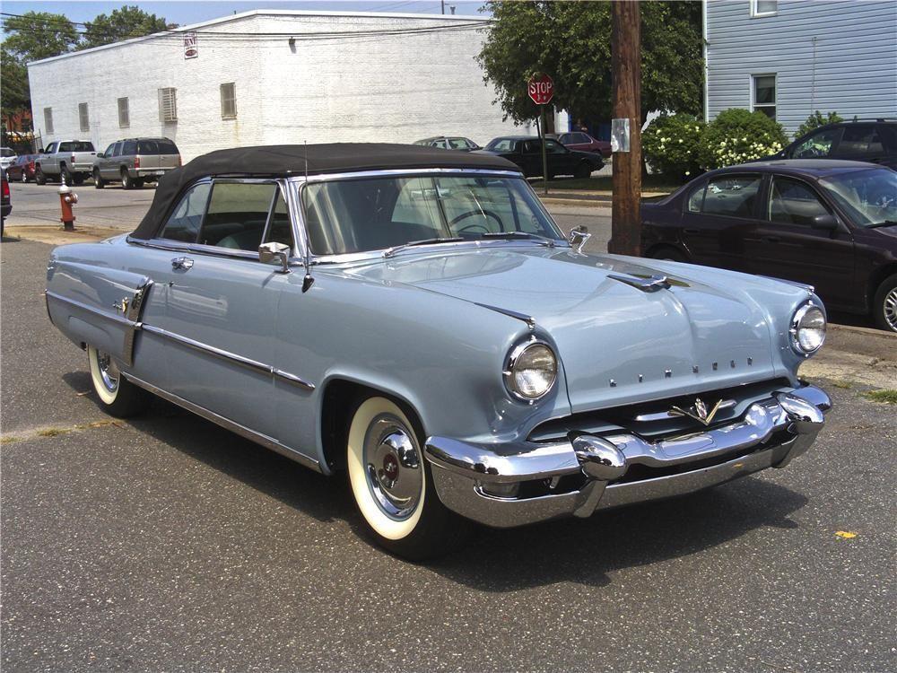 carnutzphoto: 1954 Lincoln Capri Convertible | The Classic Car Feed – Classic an…