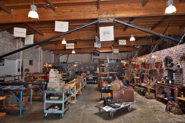 Sandast flagship store- Los Angeles store design - Utilitarian ...