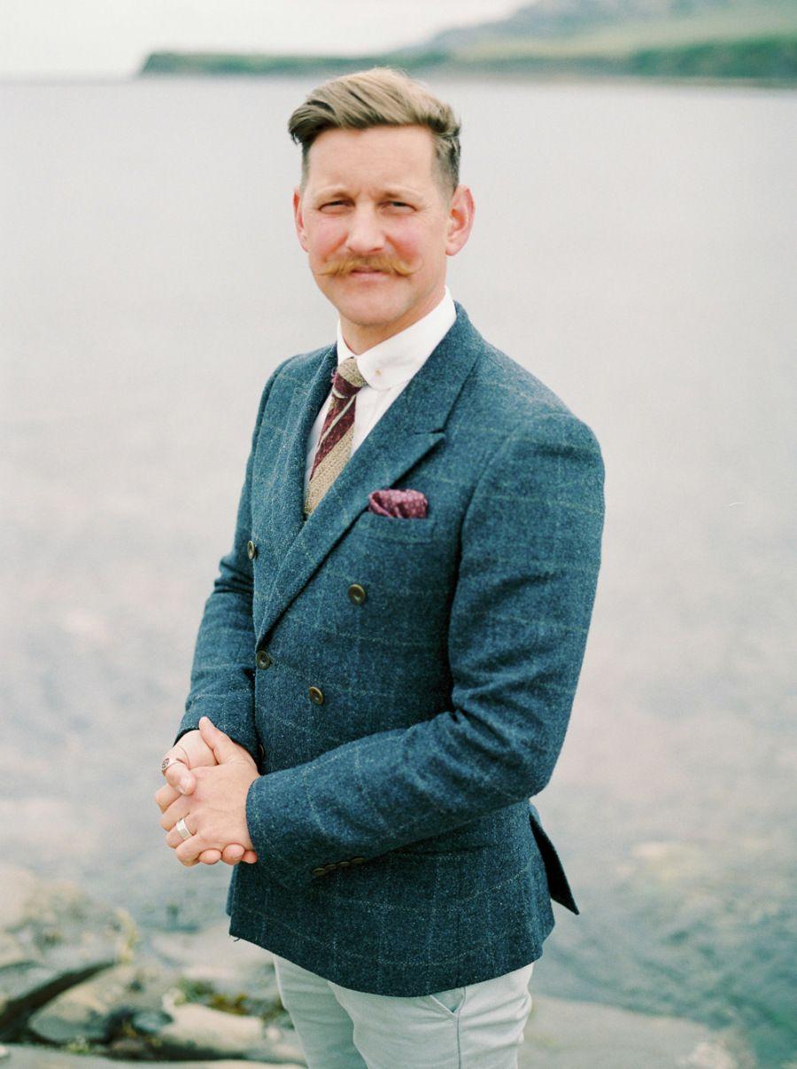 Movember-inspired bearded grooms: http://www.stylemepretty.com ...