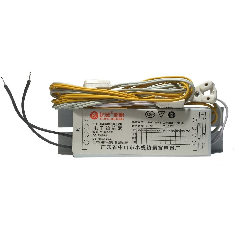 T8 Electronic Ballasts 20w 30w 40w Universal 220v 50hz Neon Lamp Ballast Fluorescent Lamp Rectifier 1 Output 2 Output Neon Lamp Fluorescent Lamp Ballast