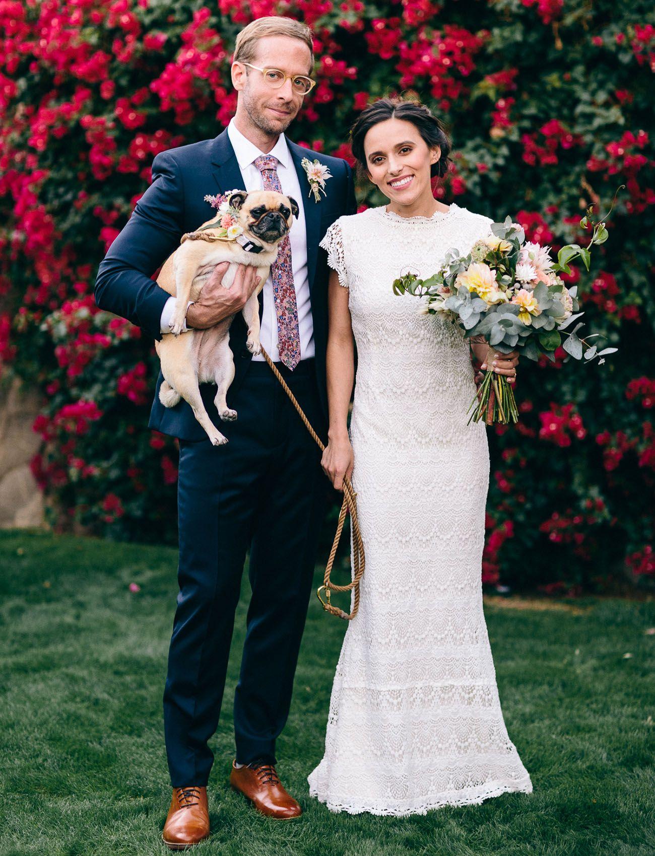 Modern, Romantic Palm Springs Wedding: Anica + Jonpaul