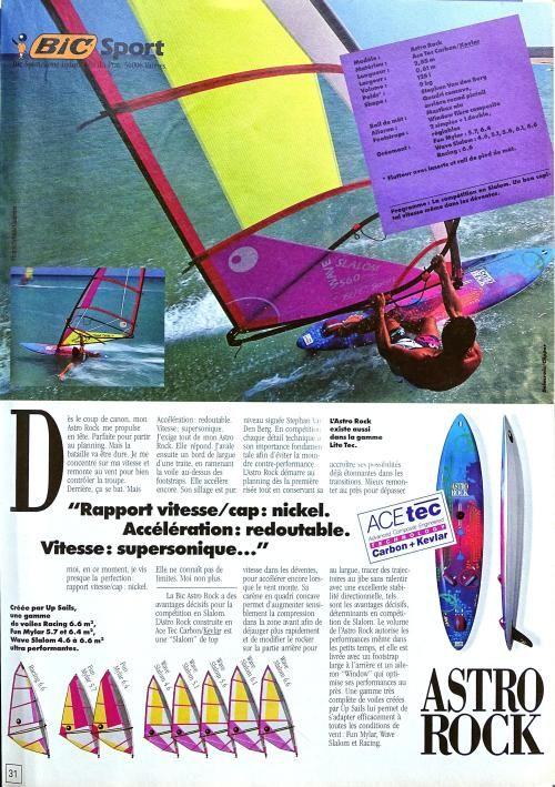 Bic Astro Rock Planche A Voile Sport Astro