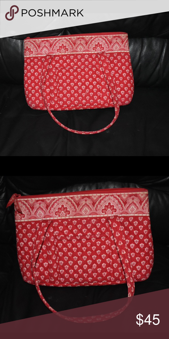 2171ed600b83 Retired Rare Nantucket Red Vera Bradley Bag Vera Bradley handbag ...
