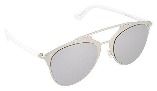 10cd27719d5f7c Christian Dior Diorreflected DC 85L 52 Montures de Lunettes Femme Argenté  White
