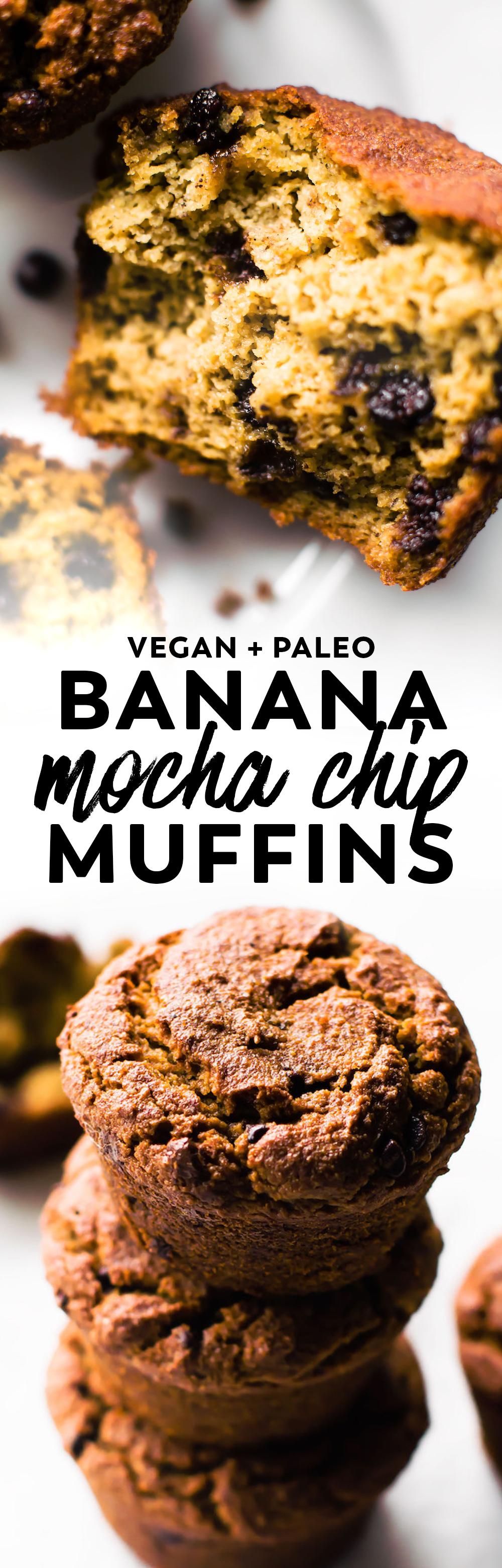 Banana Mocha Chip Muffins Recipe Food, Dessert recipes