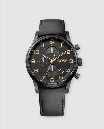 c8f56c273fba Reloj de hombre Hugo Boss 1513274 Black and Gold Collection ...