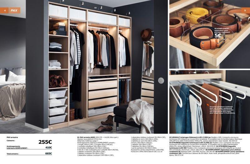 armoire ouverte pax brochure 2016 placard penderie pinterest armoire ouverte armoires. Black Bedroom Furniture Sets. Home Design Ideas