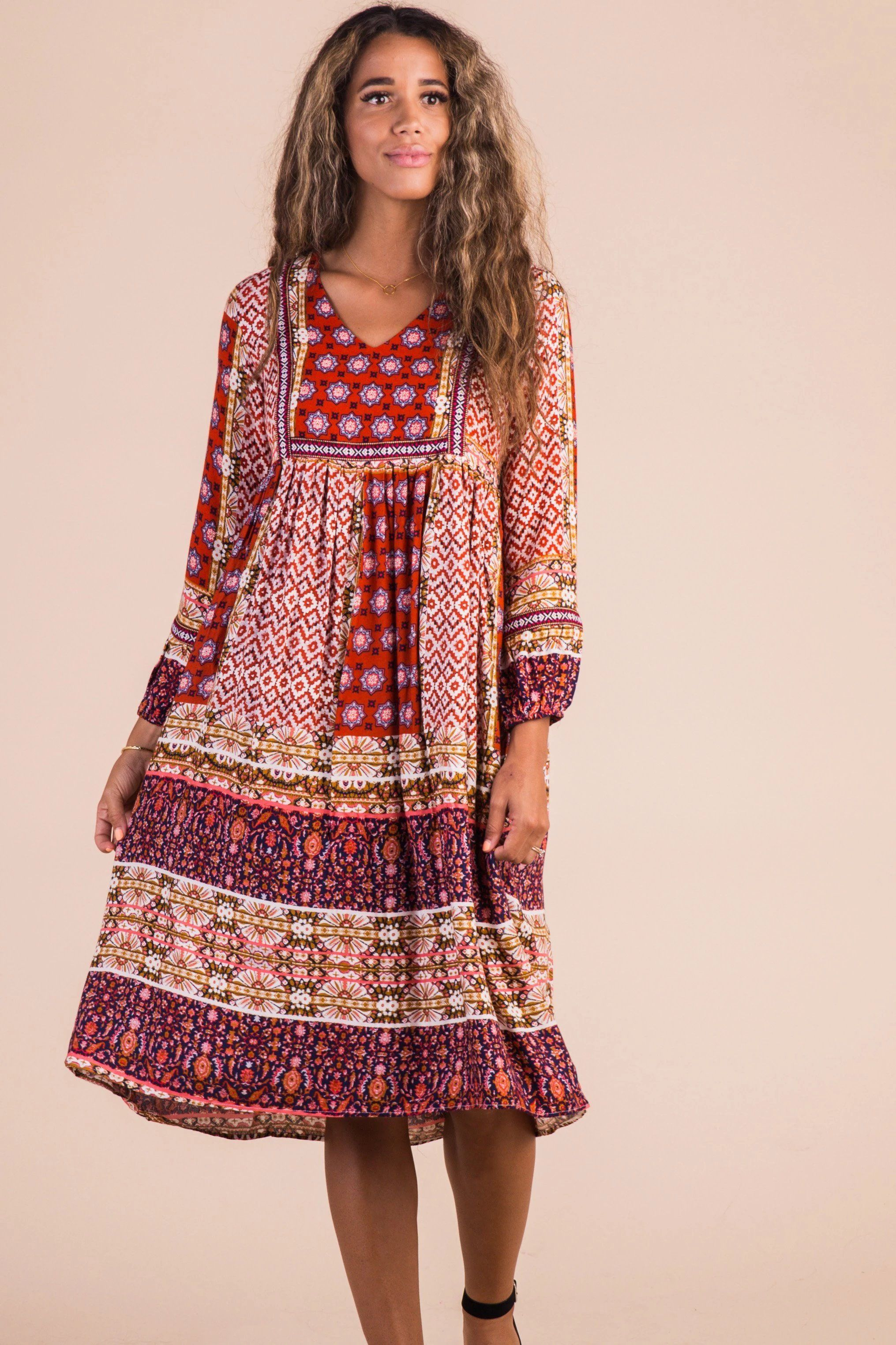 Edinbrook Print Dress Dresses Fashion Short Dresses [ 3047 x 2031 Pixel ]