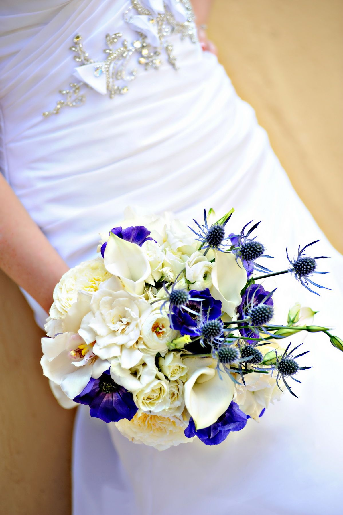 Gardenia, Calla Lily and Orchid Bouquet Orchid bouquet