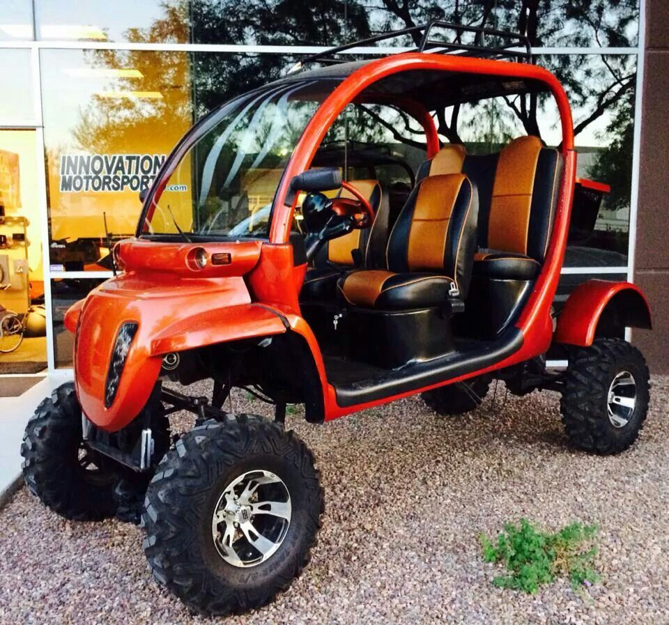 Custom lifted Gem car by Innovation Motorsports