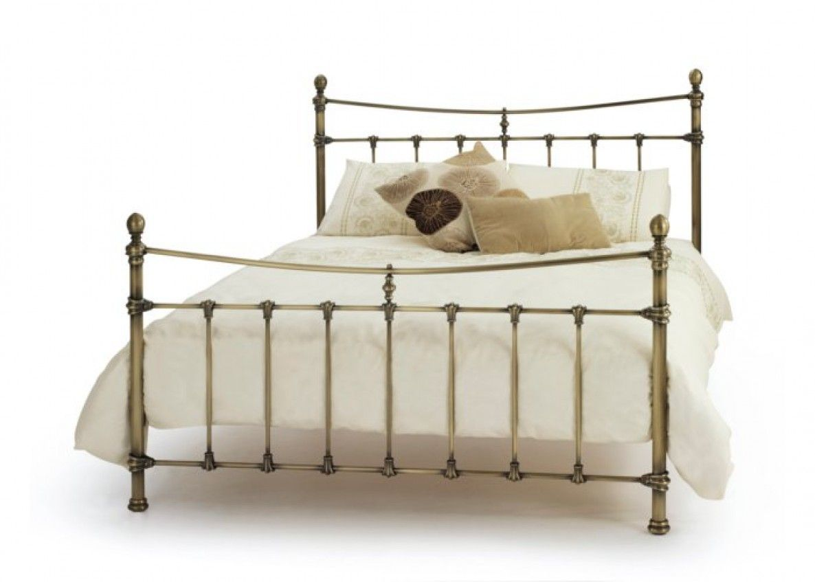 serene olivia metal bed frame king size beds bed sizes bed