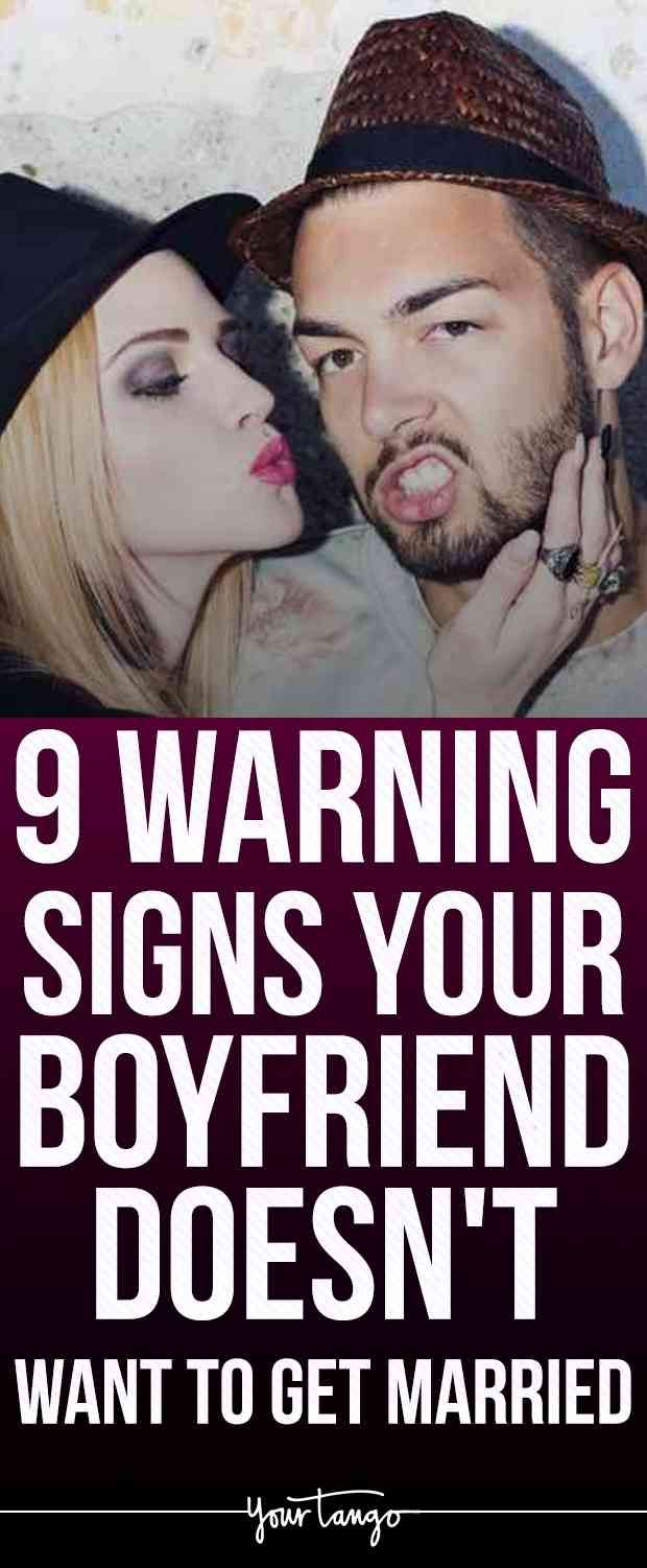 9 warning signs that your boyfriend
