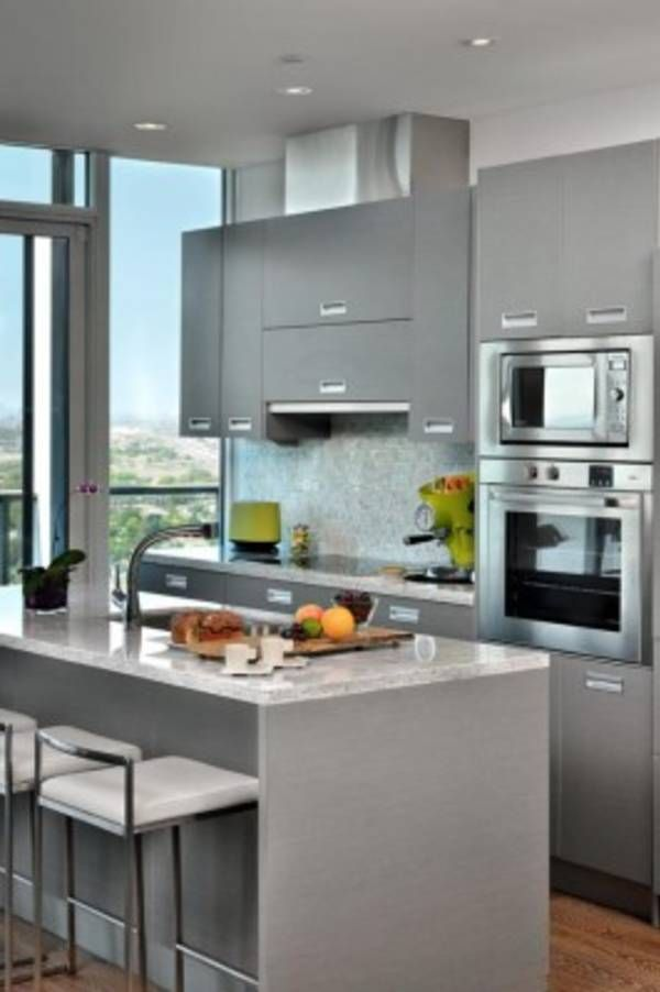 48 Extremely Creative Small Kitchen Design Ideas Kitchen Design Simple Modern Kitchen For Small Condo