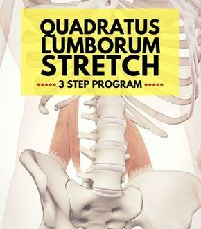 strengthen your tight quadratus lumborum 3 step program