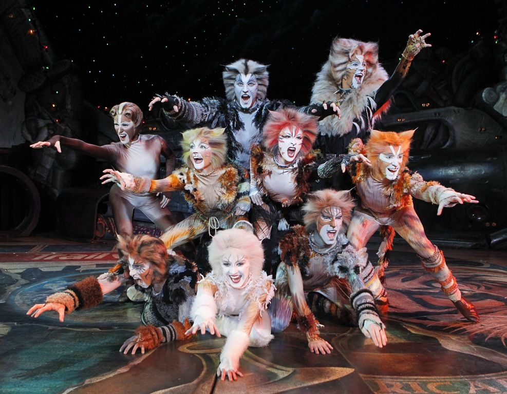 broadway musical cats images The Jellicle Cats on the