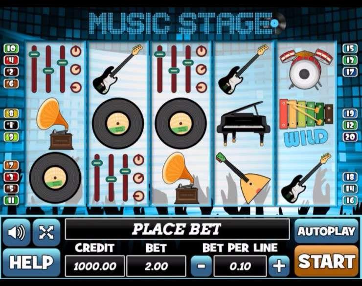 Spiele Music Stage - Video Slots Online