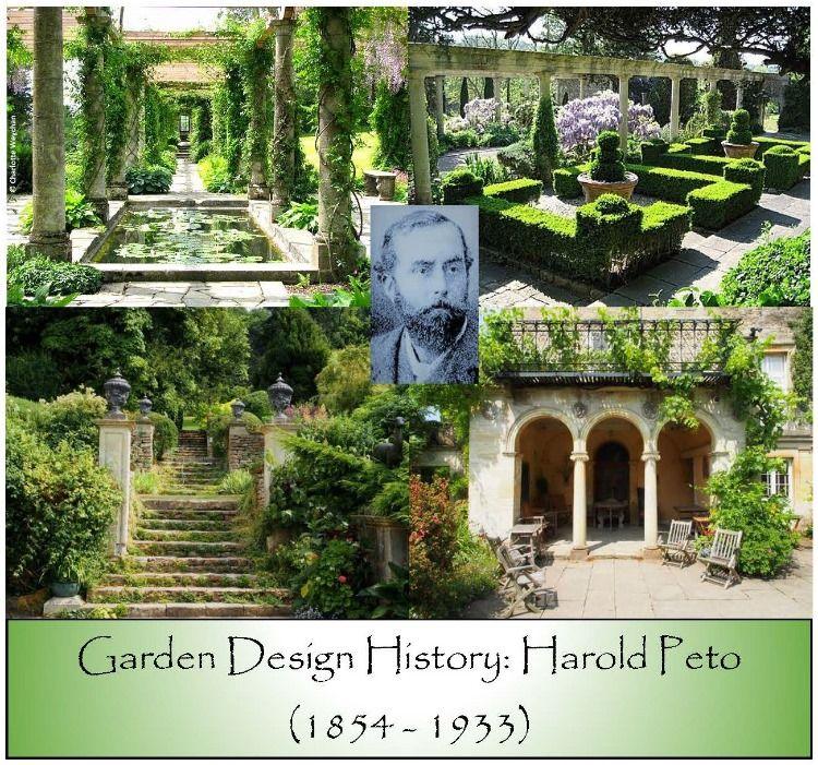 History Of Harold Peto Renaissance Gardens Landscape Design Victorian Gardens