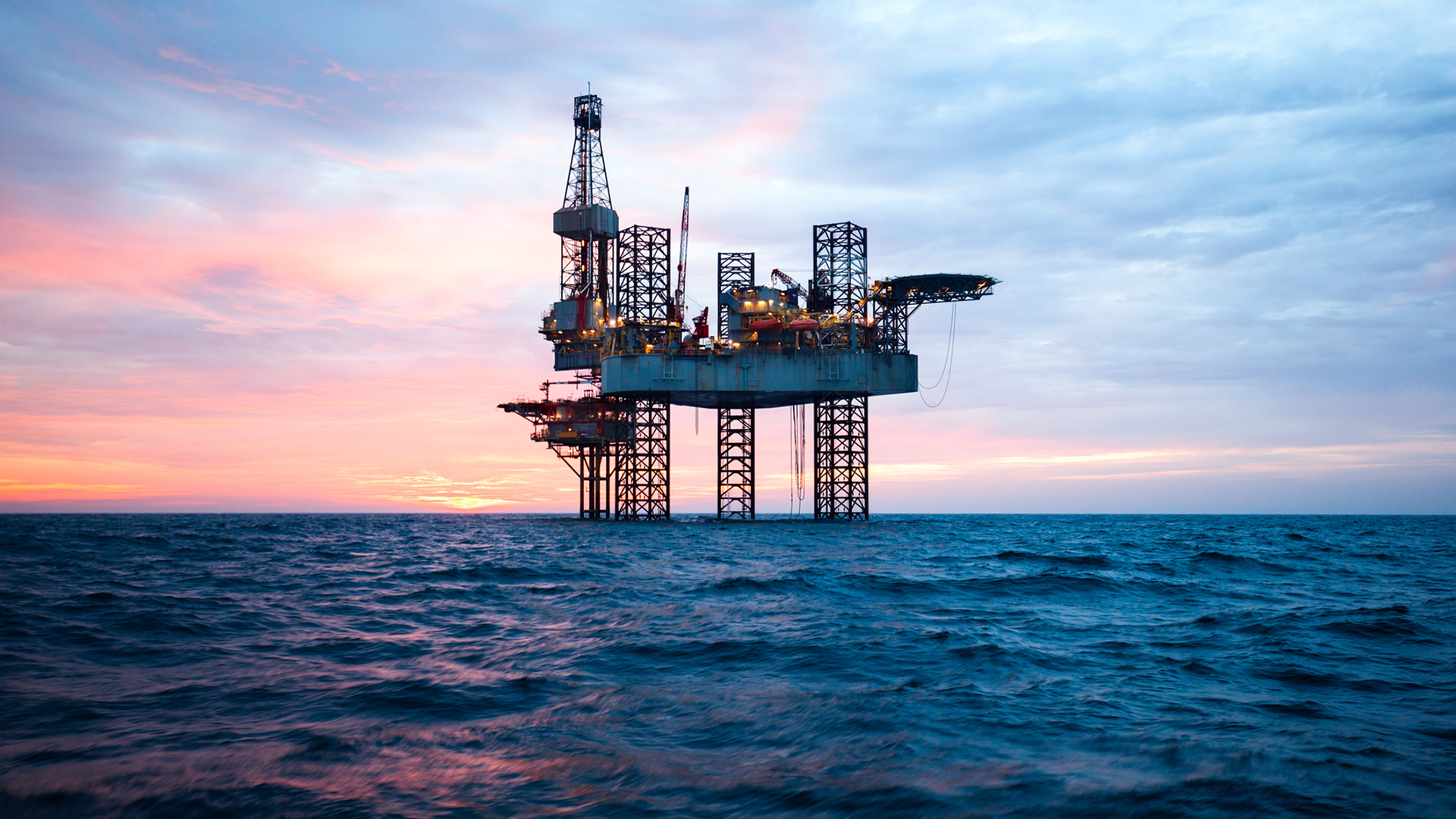 Offshore Jack Up Rig 1920x1080