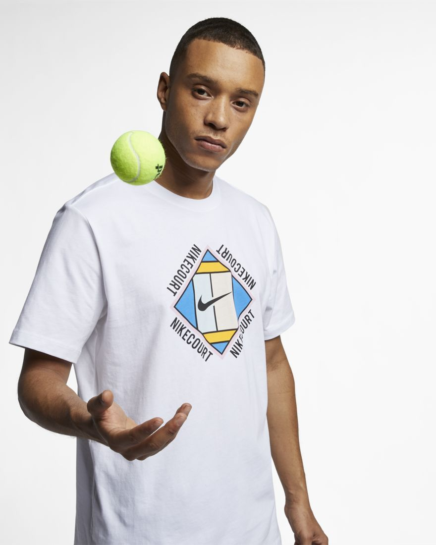 Nikecourt Men S Graphic Tennis T Shirt Tennis Tshirts Tennis Shirts
