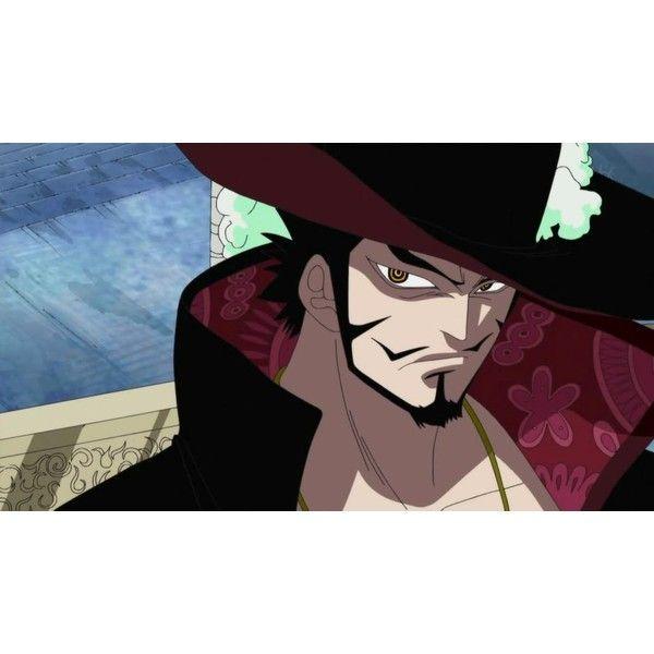 Dracule Mihawk Vs Kanzaki Kaori ❤ liked on Polyvore featuring anime