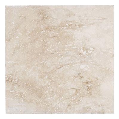 Faber 18 In X 18 In Tavas Honed Filled Travertine Floor Tile