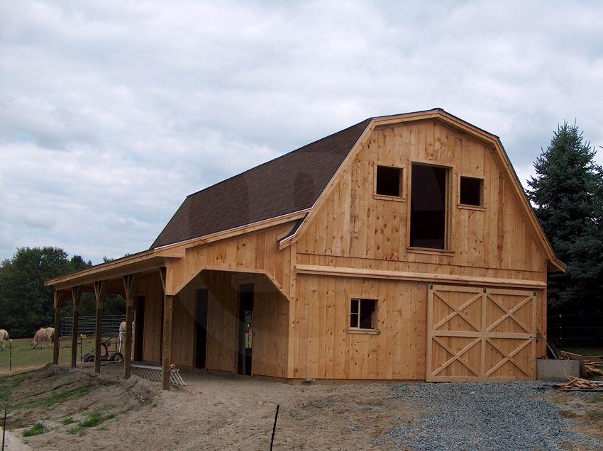 Gambrel Roof Overhang Gambrel Roof Gambrel Roof Overhang
