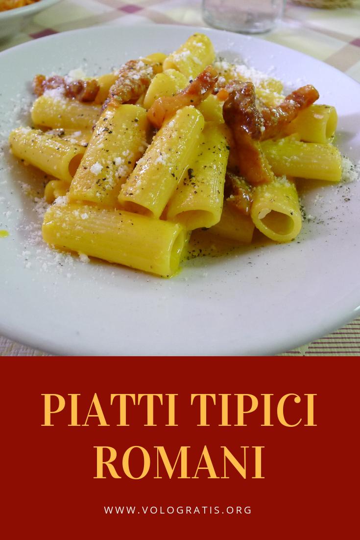 Piatti tipici romani cosa mangiare a roma pasta alla for Cosa mangiare a roma