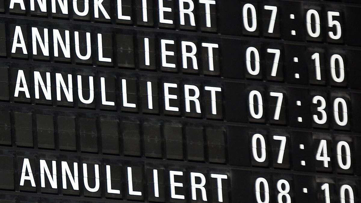 Ausfälle und Verspätungen: Verdi legt sechs deutsche Flughäfen mit Warnstreiks lahm