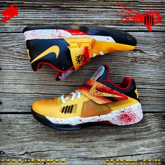 Nike Zoom KD IV Kill Bill Customs by Gourmet Kickz . ... 3e9c7f7de