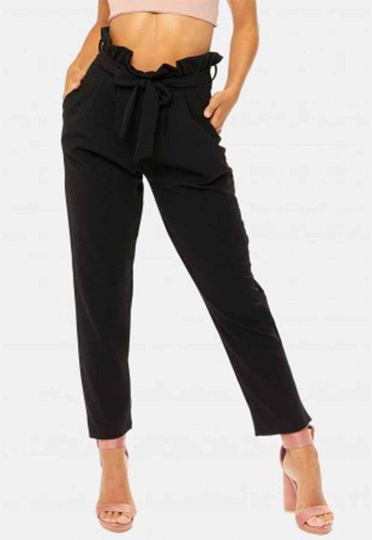 Pantaloni fiocco a vita alta   Ropa   Idee di moda