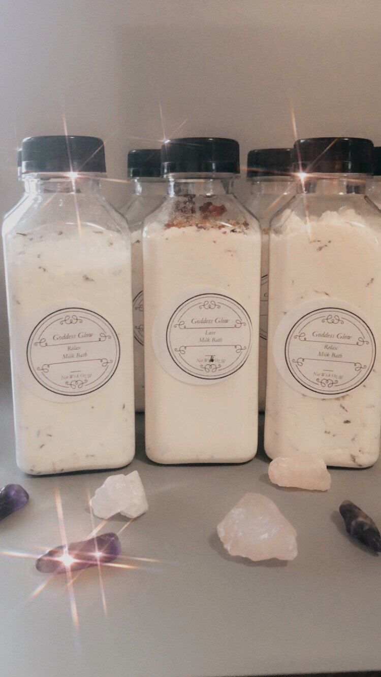 Milk bath soak #milkbath