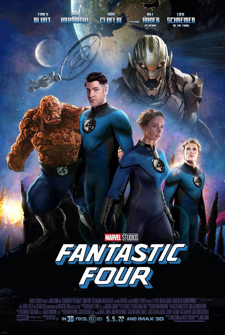 Marvel Studios' Fantastic Four by SUPER-FRAME
