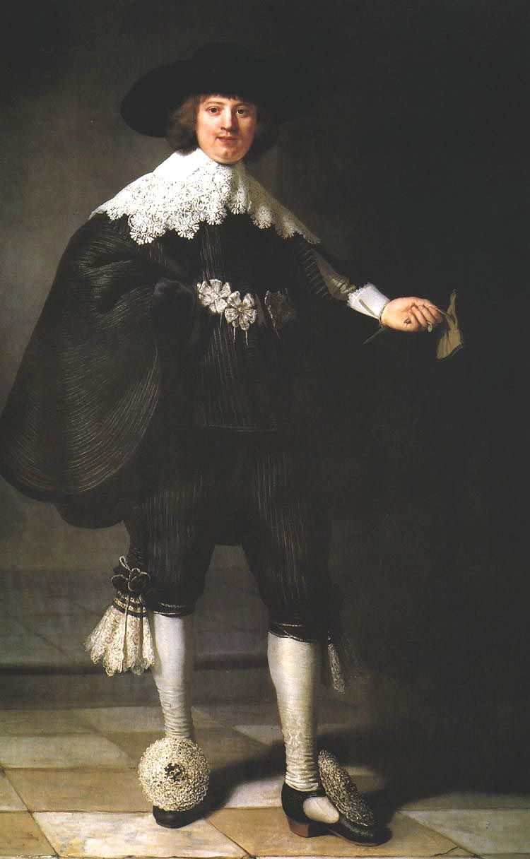 Rembrandt Harmenszoon van Rijn (Dutch 1606–1669) Portrait of Marten Soolmans, 1634.