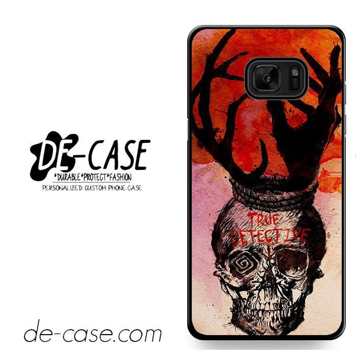 True Detective Skull Art DEAL-11422 Samsung Phonecase Cover For Samsung Galaxy Note 7