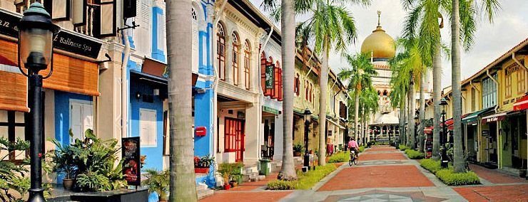 A Trip To Singapore Is Not Complete Without A Visit To The Delightful Arab St And Haji Lane The Lanes Only Singapore Sights Singapore Travel Singapore Photos